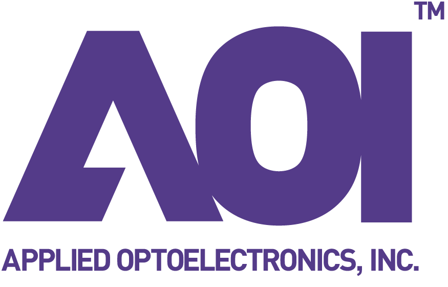 Applied Optoelectronics Inc. (AOI) logo